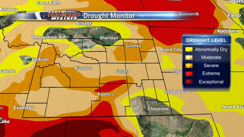 With the release of the newest drought monitor, Cheyenne and Laramie are drought free and...