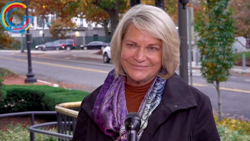 Sen.-elect Cynthia Lummis (R-WY) discusses Senate Orientation
