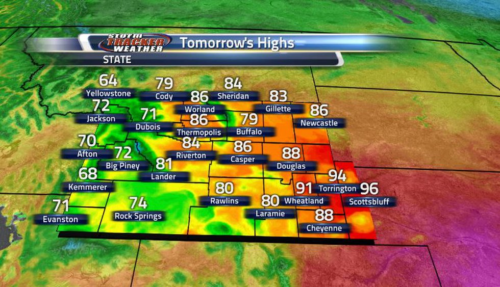 While temperatures will remain on the warmer side for this time of year, it will be much more...