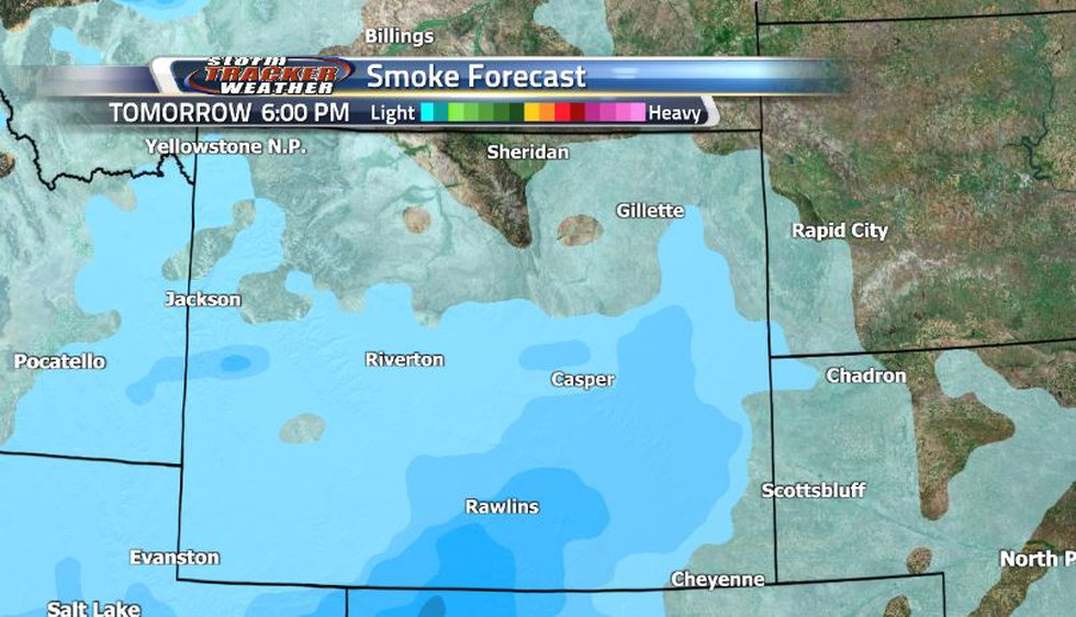 The weekend doesn't look to be the best in terms of smoke as there will be a decent amount of...