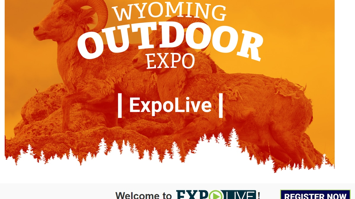 Wyoming Game & Fish Department outdoor expo flyer- May 2021