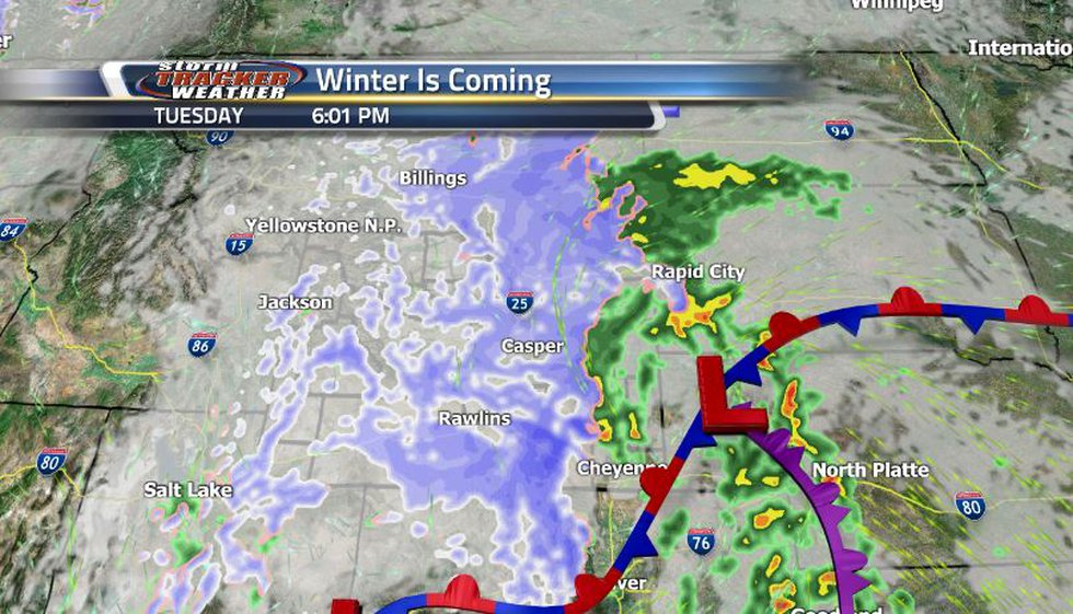 The northern and central regions of the state are expecting a lot of snow with some places...