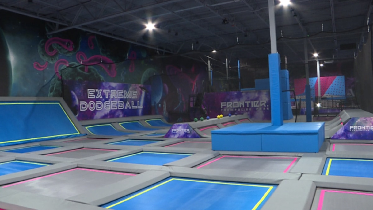 Frontier Trampoline Park looks to open in the late fall.