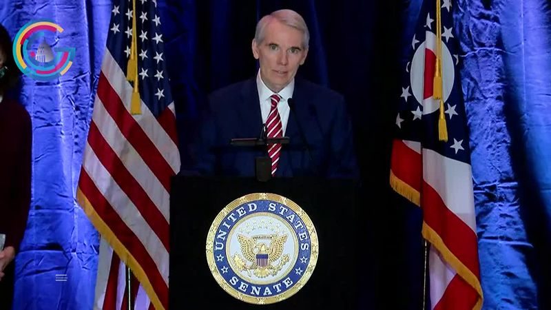 Ohio Sen. Rob Portman announces he won't run for re-election