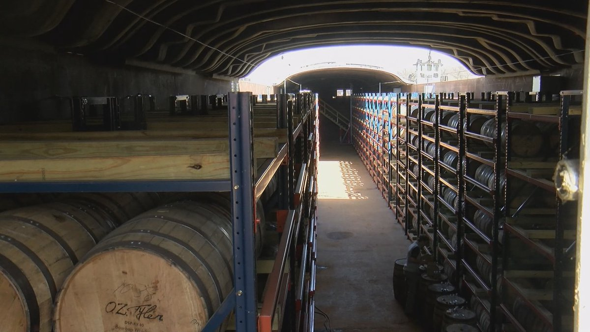 One company is making whiskey on the river in Ballard County, Ky.
