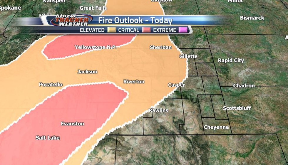 Strong breezes from the southwest are expected in much of Wyoming this afternoon, bringing in...