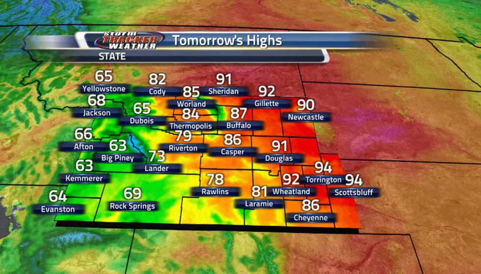 Temperatures for this weekend will be on the warmer side, at least for the eastern side of the...