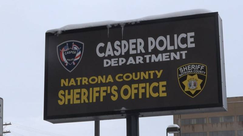 A sign at CPD during the first snow storm of the season