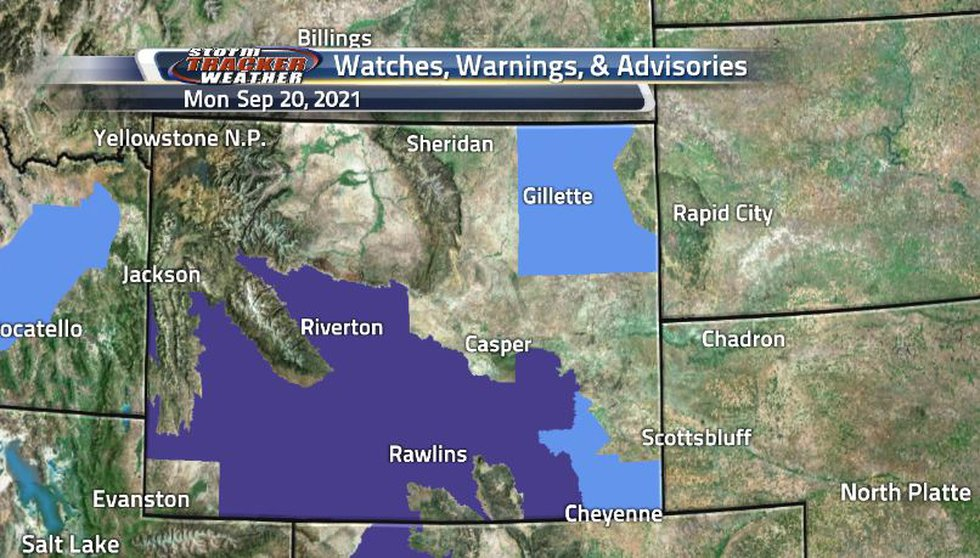 Due to the below freezing temperatures around the state, freeze warnings are in effect for the...