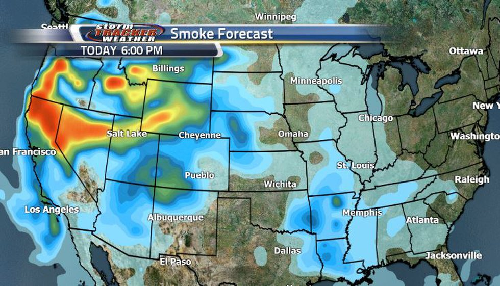 Smoke will fluctuate a little bit as to how heavy or light it will be, but we can expect to see...