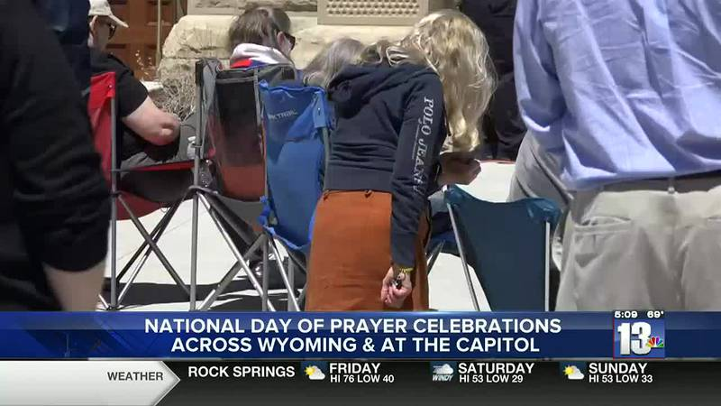 National Day of Prayer at the Capitol in Cheyenne. May 6, 2021