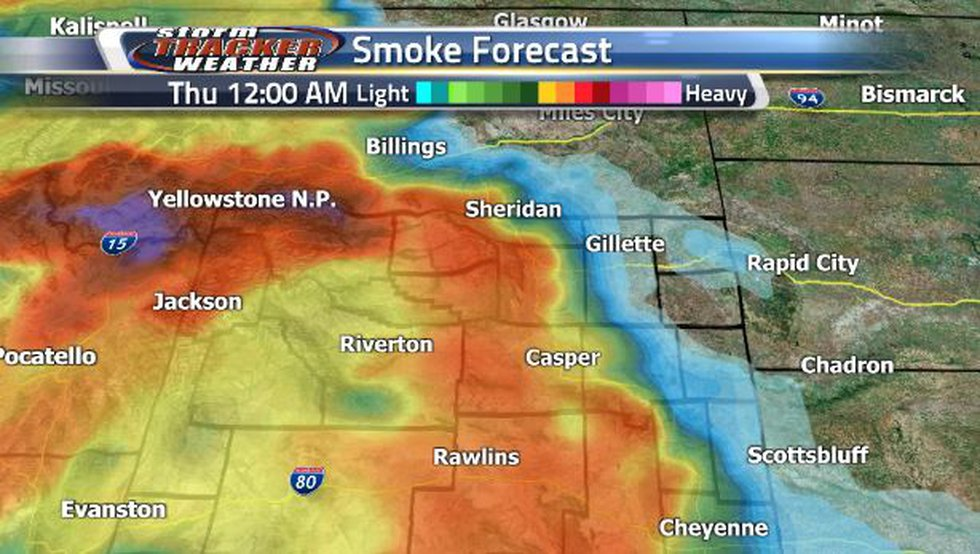 Heavy smoke is making a return. Early Thursday, we can expect to see more of it along the...