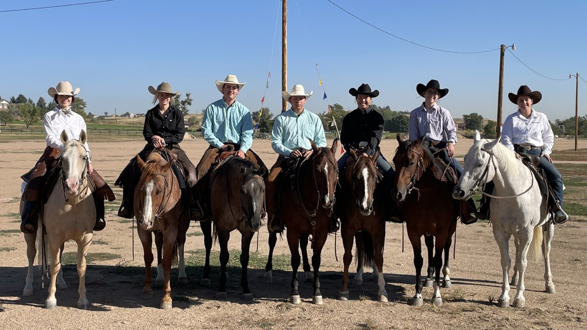 LCCC ranch horse team brings home individual awards at first fall contest