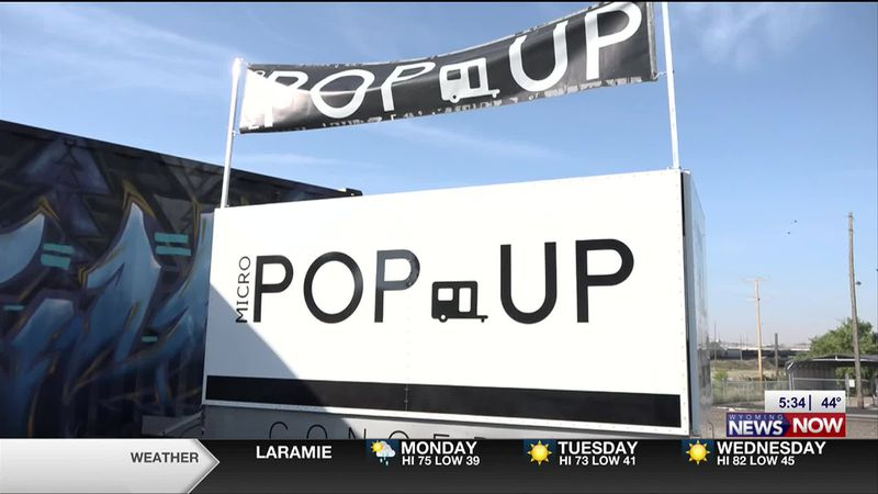 The owners of Mirco Pop-up Concepts in Cheyenne said their business consists of a couple of...