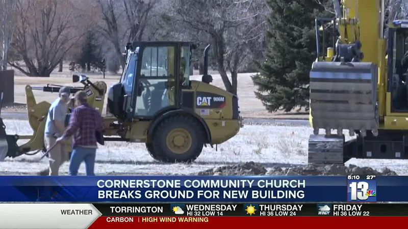 New location at intersection of Riverview and Augusta for Cornerstone Community Church in...