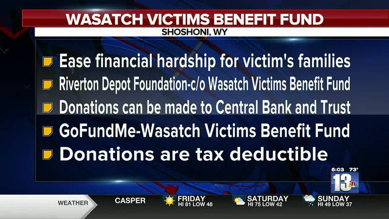 Wasatch Victims Benefit Fund created by Shoshoni Police Chief Konija