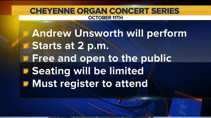 Acclaimed Mormon Tabernacle organist Andrew Unsworth will perform 2 p.m. Oct. 11, 2020, on the...