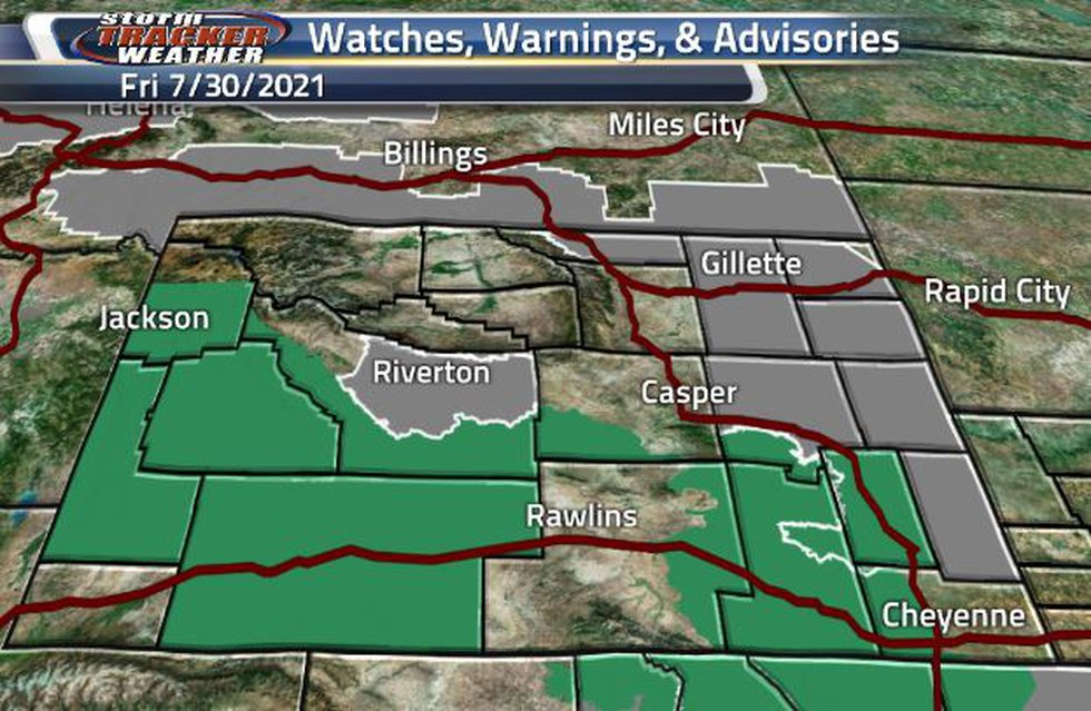 There are three different Air Quality Warnings and two separate Flash Flood Watches within the...
