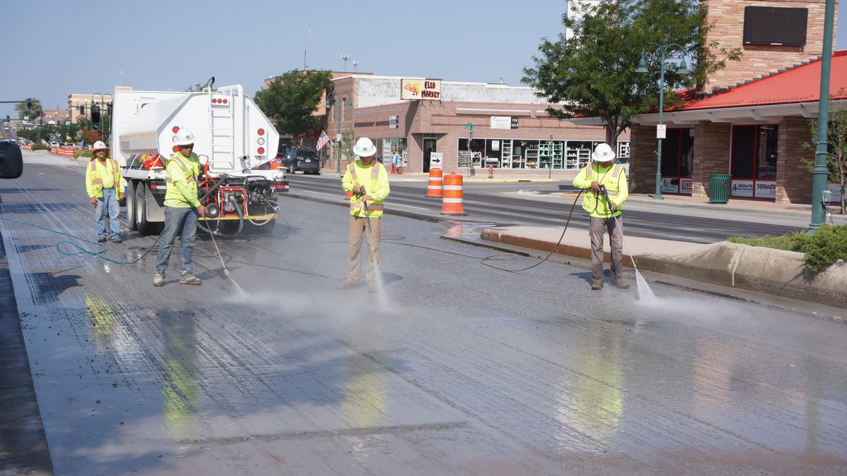 Paving scheduled for Riverton Main Street concrete repair project (WYDOT)