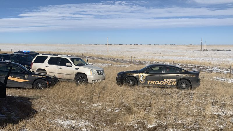 As the troopers attempted a stop the stolen Cadillac, the driver failed to stop and tossed a...