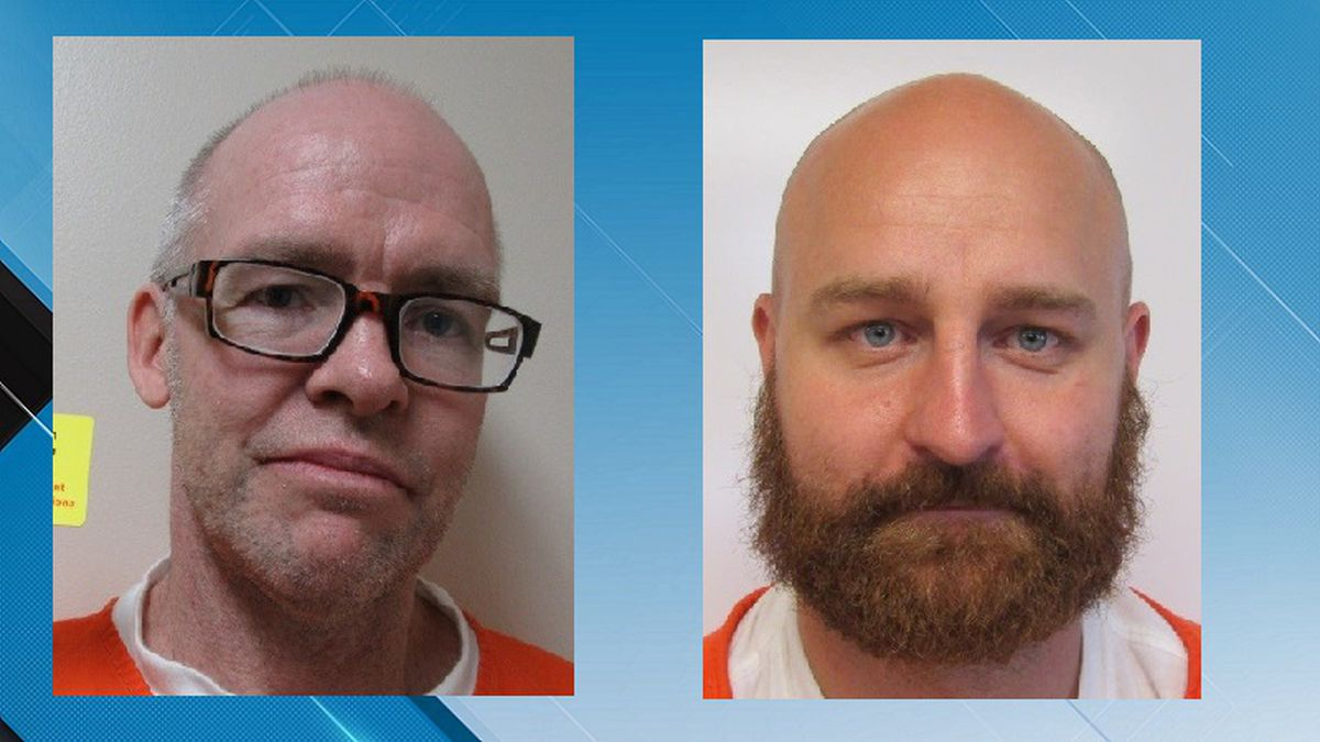 The two escaped inmates stole a 2002 Ford 150 extended cab on Sunday (Source Wyoming Department...