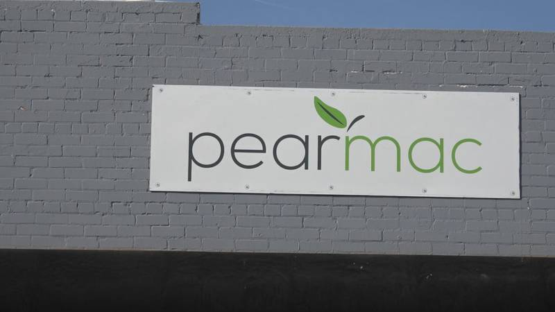 PearMac's building in downtown Cheyenne in March.