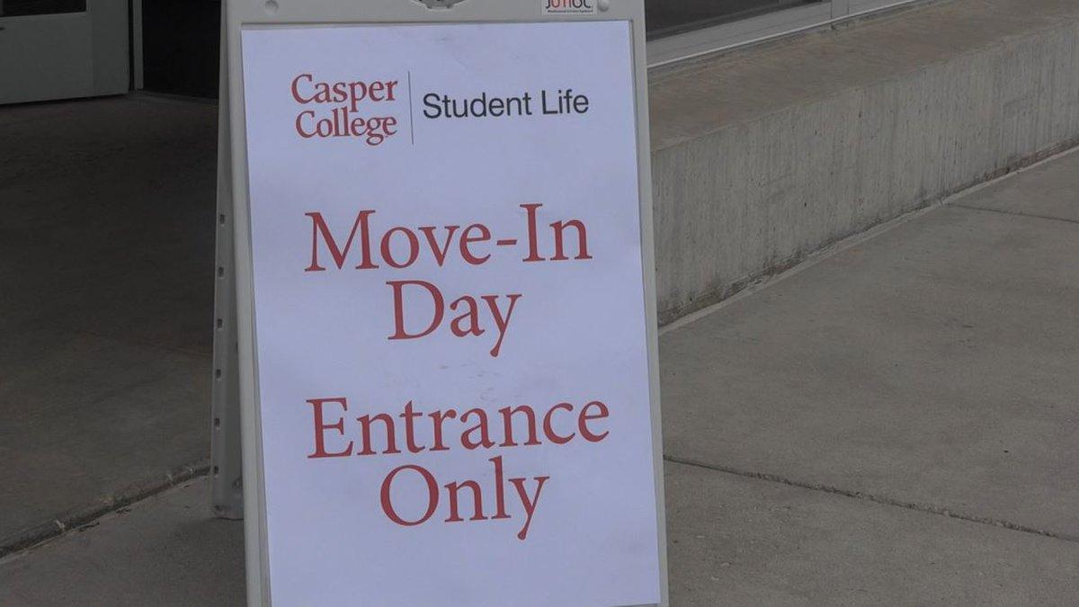 Move-in Day at Casper College