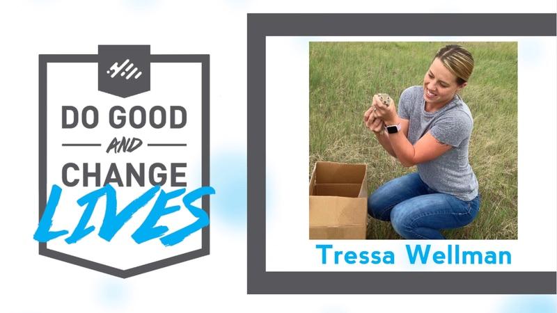 Tressa Wellman is this week's Do Gooder award recipient