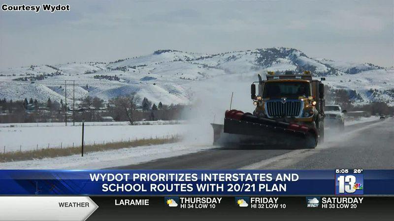 Snowplow in Wyoming, Courtesy Wyoming Department of Transportation