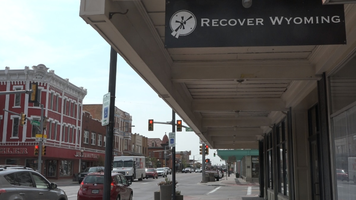 Recover Wyoming's downtown Cheyenne office