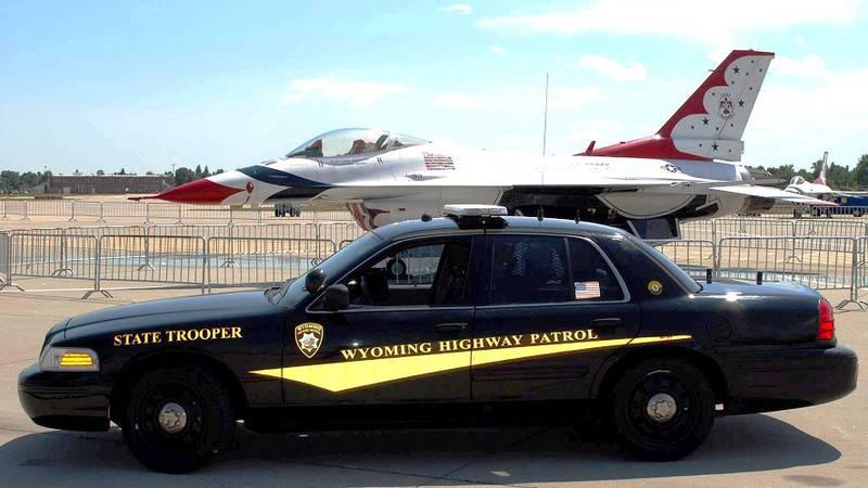 Photo courtesy: Wyoming Highway Patrol