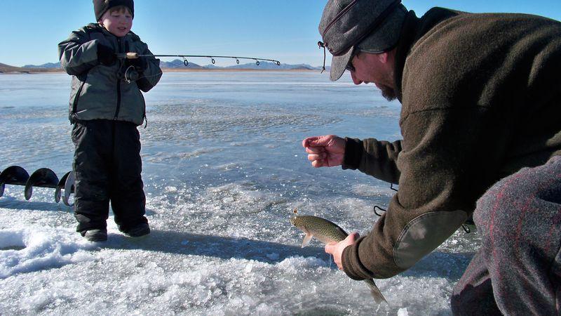 wyoming game and fish predict good winter fishing