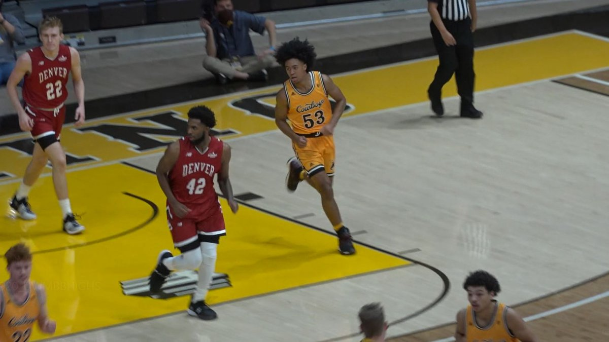 University of Wyoming Guard Xavier Dusell returns to the Cowboys after being a key cog during...