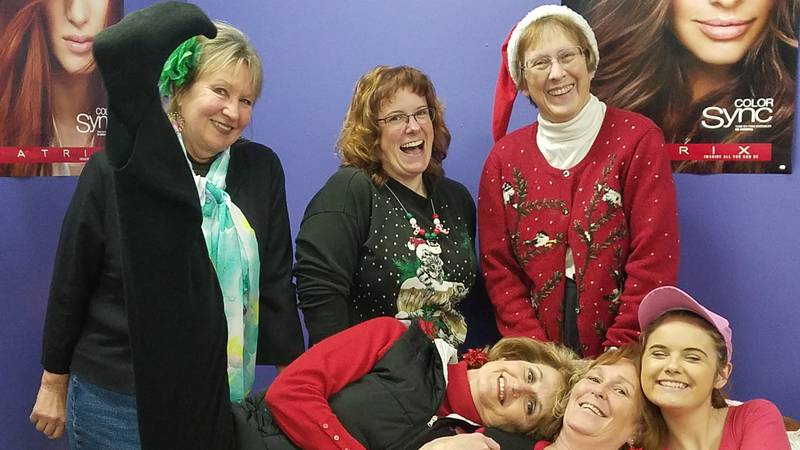 A cast photo from Casper Theater Company's production of Steel Magnolias