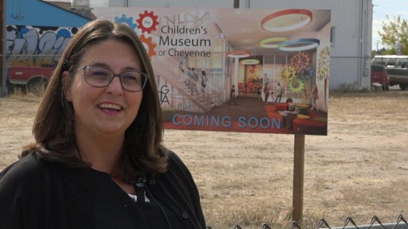 Children's Museum of Cheyenne moves forward. Caroline Veit, President of CMC