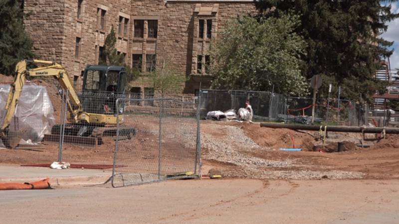 UW demolition of Wyo Hall to make room for new dormitories