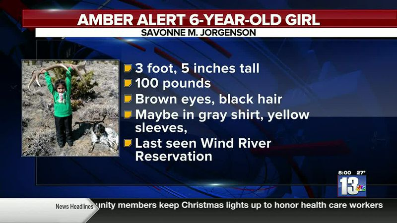 Wind River Police Department issued an Amber Alert
