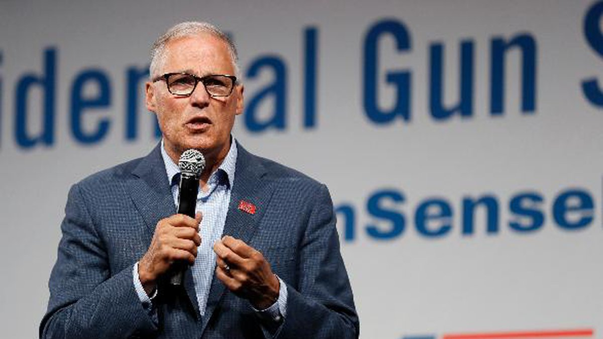 Washington Gov. Jay Inslee announced Wednesday he is dropping out of the presidential race. (AP...