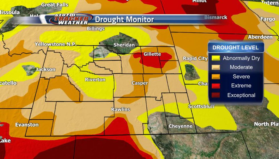 Since the turn from May to June drought conditions in Wyoming have been worsening thanks to a...