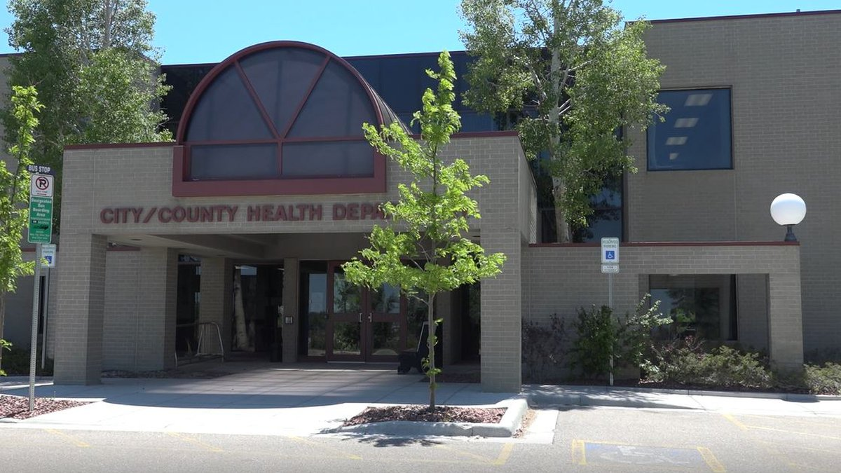 Cheyenne-Laramie County Health Department's 100 Central Ave. location on  the afternoon of June...