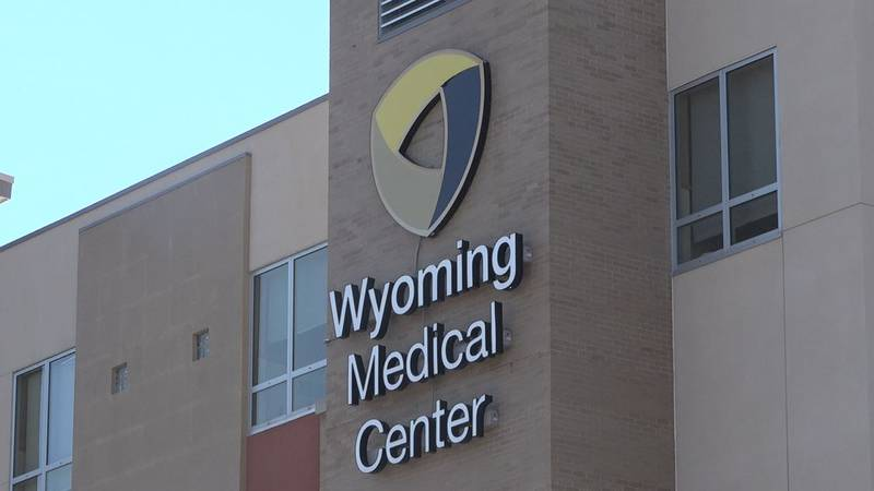 The outside of the Wyoming Medical Center