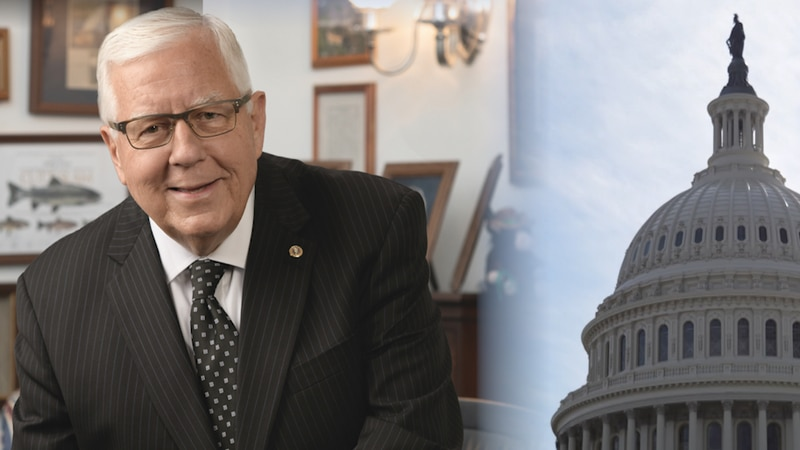 Wyoming Sen. Mike Enzi reflects on four terms in Congress