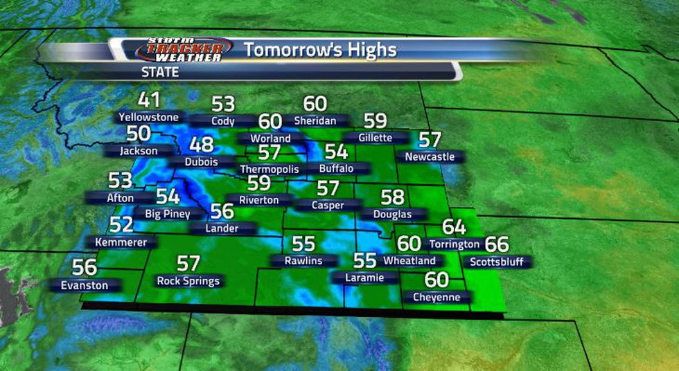 It will be quite the chilly day for many of us in the Cowboy State.