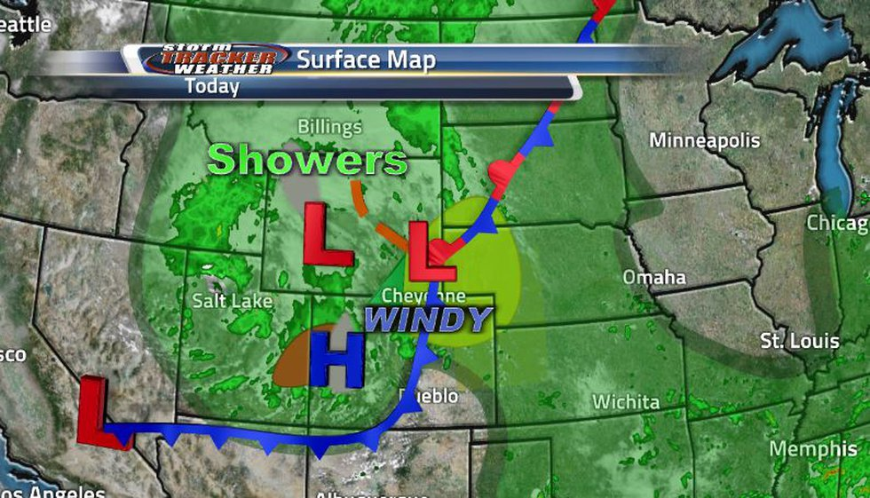 Lots of severe storms associated with this front as it moves through, everything from mixed...