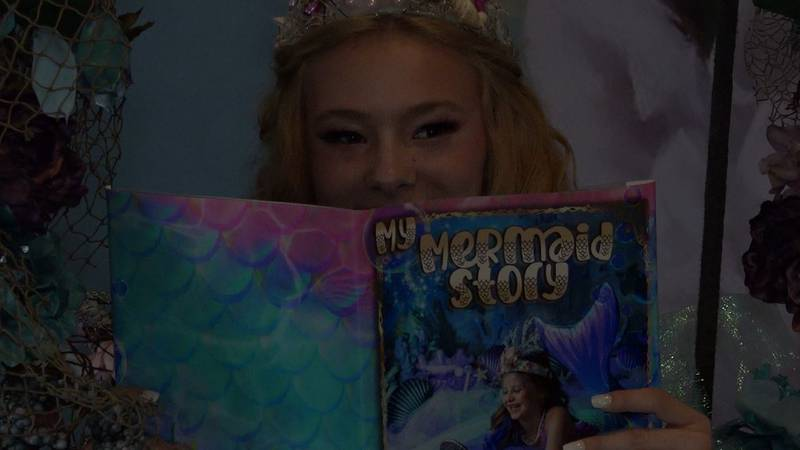 My Mermaid Story is the first book in the Picture My Stories collection