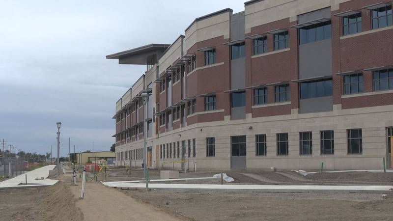 The new state building in downtown Casper