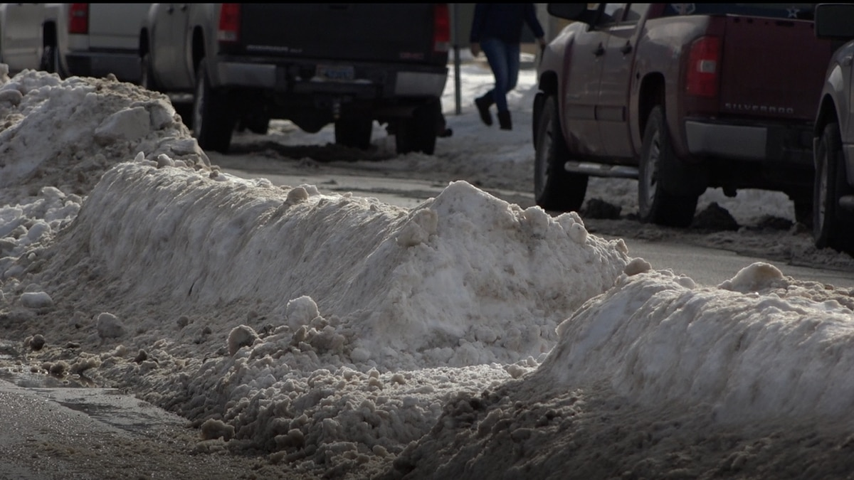 The city of Casper said on Facebook they are going to start plowing snowy side streets