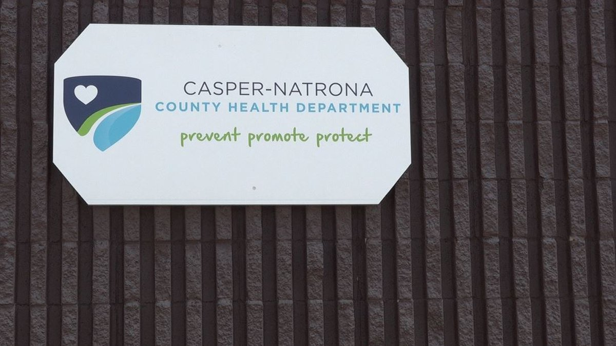 The outside of the Natrona County Health Department building