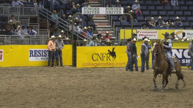 Thompson earns spot in CNFR short championship go round in goat tying and breakaway (NBC...