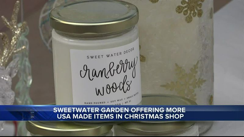 Sweetwater Garden's Christmas shop in Riverton, WY